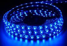 Wodnoodporna Taśma LED, 150 diod, kolor niebieski