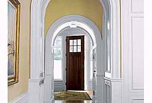 dekoracja łuków drzwiowych