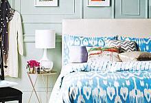 romantyczna, kobieca sypialnia