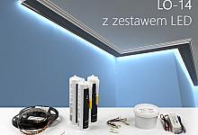 Zestaw - listwa oświetleniowa LO-14