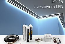 Zestaw - listwa oświetleniowa LO-15