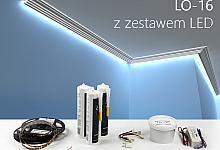 Zestaw - listwa oświetleniowa LO-16