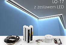 Zestaw - listwa oświetleniowa LO-17