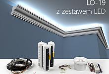 Zestaw - listwa oświetleniowa LO-19