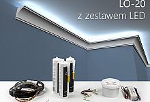 Zestaw - listwa oświetleniowa LO-20