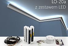 Zestaw - listwa oświetleniowa LO-20A
