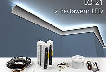 Zestaw - listwa oświetleniowa LO-21