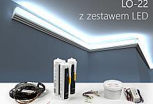 Zestaw - listwa oświetleniowa LO-22