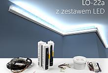 Zestaw - listwa oświetleniowa LO-22A