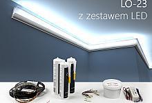 Zestaw - listwa oświetleniowa LO-23