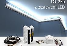 Zestaw - listwa oświetleniowa LO-23A