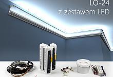 Zestaw - listwa oświetleniowa LO-24