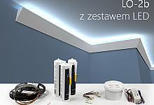 Zestaw - listwa oświetleniowa LO-2B