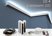 Zestaw - listwa oświetleniowa LO-4