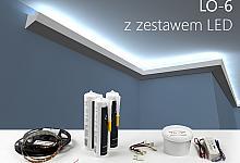 Zestaw - listwa oświetleniowa LO-6