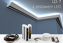 Zestaw - listwa oświetleniowa LO-7