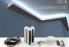 Zestaw - listwa oświetleniowa LO-8