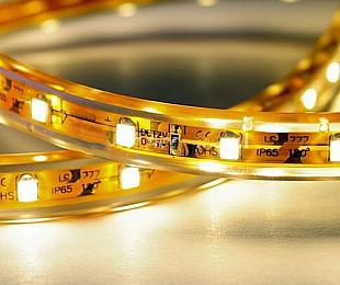 listwa styropianowama LED, 300 diod, kolor biały ciepły